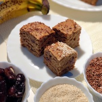 No Sugar Dates Banana Cake | Eggless Whole Wheat Banana Walnut Dates Cake - Cooker Cake | No Egg, No Butter, No All Purpose Flour, No Refined Sugar