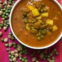 Nuterla Pea Potato Curry - No Onion No Garlic