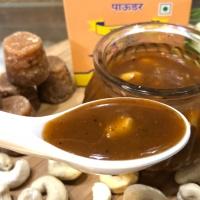 Amchur Gur Chutney (Dry Mango Powder Jaggery Dip) - Ready in 10 minutes