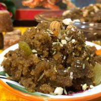 Sooji Gur Ka Halwa (Semolina Jaggery Pudding) - Healthy Dessert - No Sugar Dessert