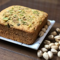 Malai Custard Cake - No Oil Cake - Eggless Whole Wheat Tea Time Pressure Cooker Cake