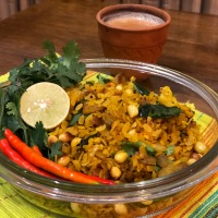 Maharashtrian Poha With Healthy Twist - Super Healthy Breakfast