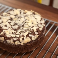 Nutty Oats Wheat Flour Chocolate Cake | Pressure Cooker Recipe | Healthy Treat On My Birthday
