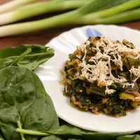 Spring Onion Spinach Sabzi | Lunch Recipe | Green Leafy Vegetable