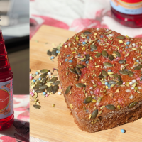 Mother's Day Special | Rooh Afza Beetroot Cake Baked In Pressure Cooker | Recipe With Rooh Afza