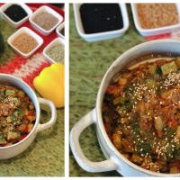 Zucchini Shimla Mirch Sabzi | Zucchini (Courgette) With Bell Pepper |  Panch Phoron
