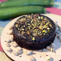Zucchini Chocolate Cake  With Whole Wheat Flour | Eggless Cooker Cake | Vegetable Chocolate Cake