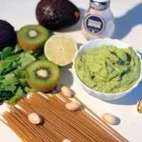 No Cook Pasta Sauce | Creamy Avocado Pasta Sauce  | Green Creamy Pistachio Pasta Sauce | Fruit Base Pasta Sauce