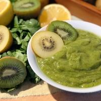 Kiwi Coriander Chutney | Fruit Base Dip | Green Chutney
