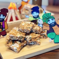 Happy Lohri | Healthy Seeds Chikki or Brittle Recipe