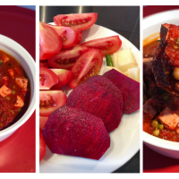 No Onion No Garlic Curry | Tomato Beetroot Based Curry | Tofu Matar Indian Curry